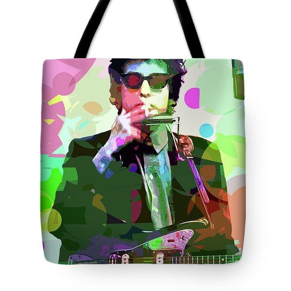 Dylan In Studio Tote Bag
