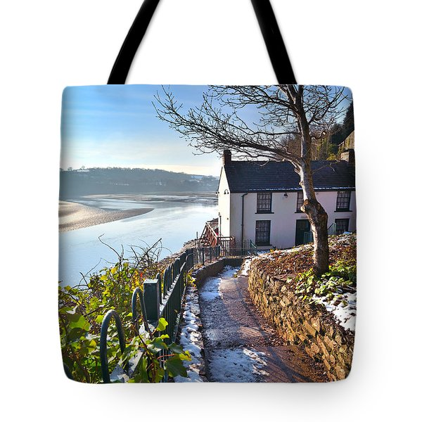 Dylan Thomas Boathouse 1 Tote Bag