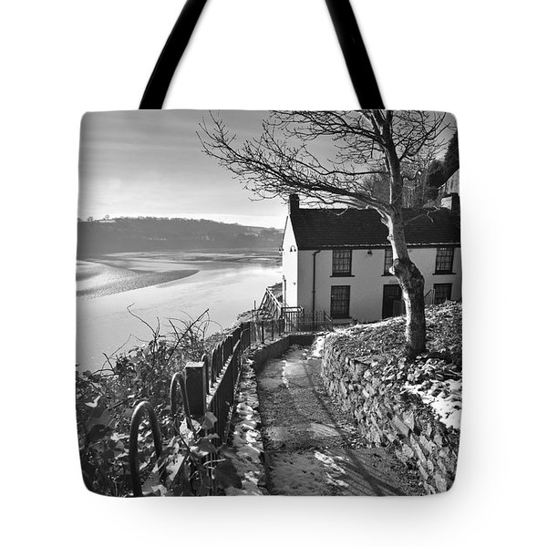 Dylan Thomas Boathouse 1b Tote Bag