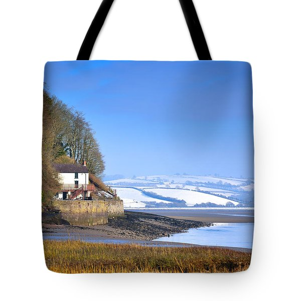 Dylan Thomas Boathouse 3 Tote Bag