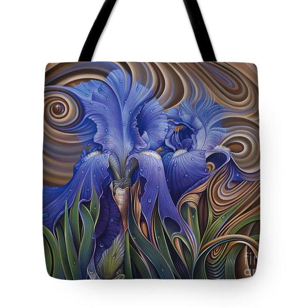 Dynamic Iris Tote Bag