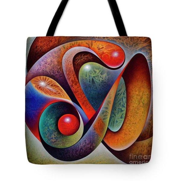 Dynamic Mantis Tote Bag