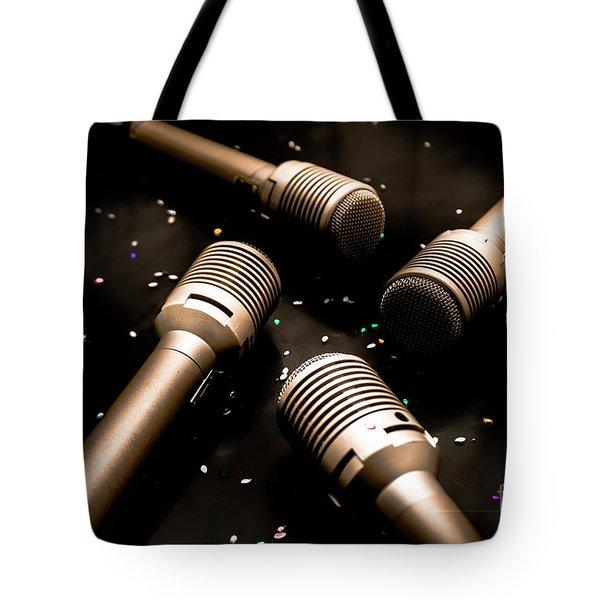 Dynamic Musical Nightclub Tote Bag