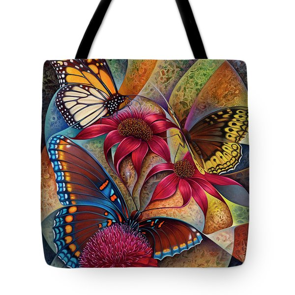 Dynamic Papalotl Series 1 - Diptych Tote Bag
