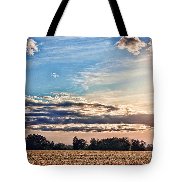 Dynamic Wheat Field Tote Bag