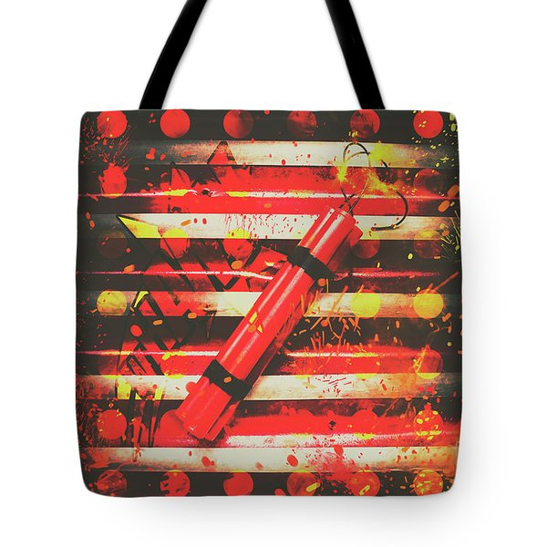 Dynamite Artwork Tote Bag