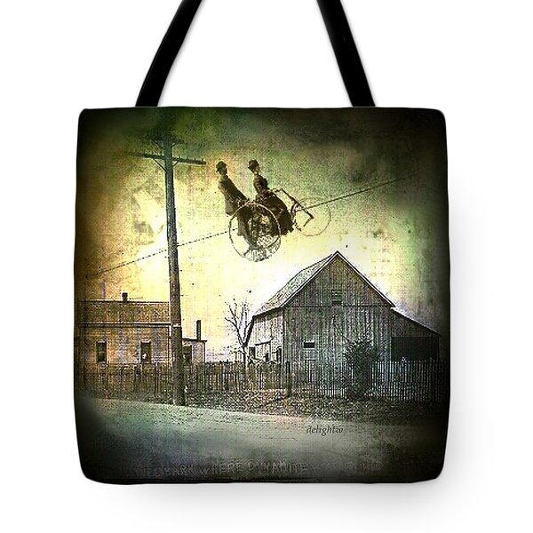 Dynamite Barn Tote Bag