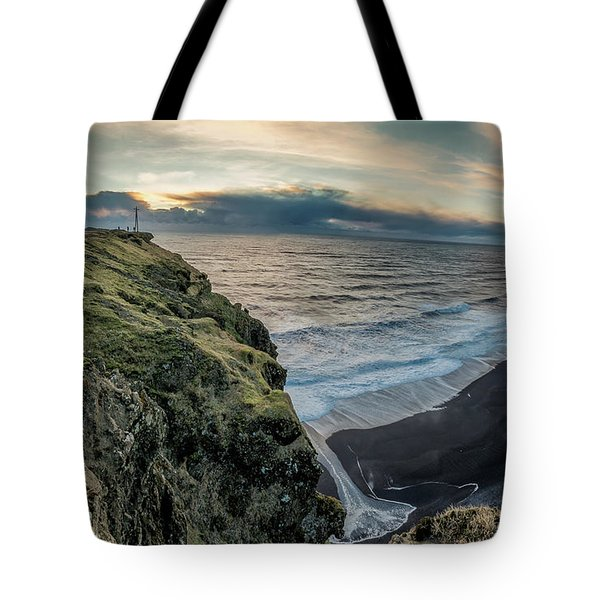 Dyrholaey Light House Tote Bag