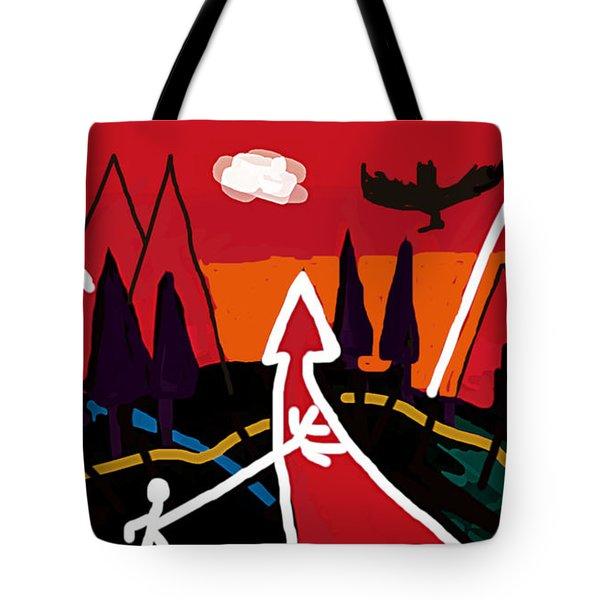 Dystopian Nite  Tote Bag