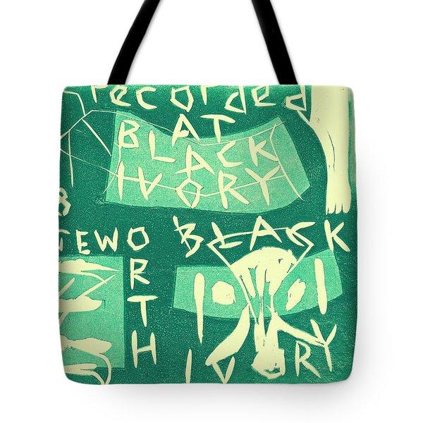 E Cd Green Tote Bag