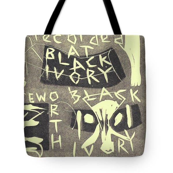 E Cd Grey Tote Bag