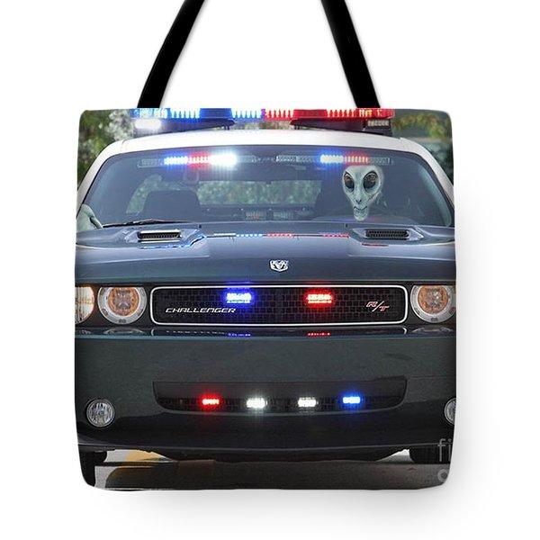 E T Cops Tote Bag