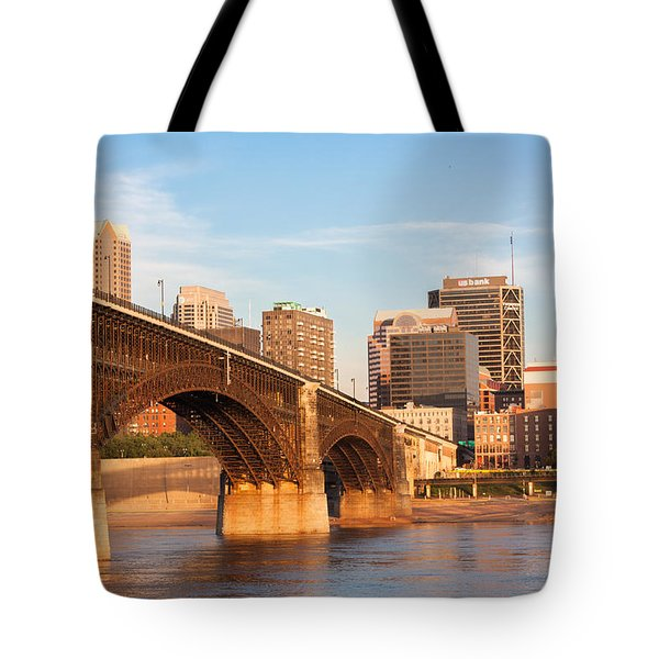 Eads Bridge At St Louis Tote Bag