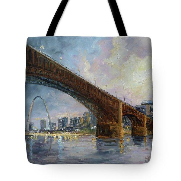 Eads Bridge - St.louis Tote Bag