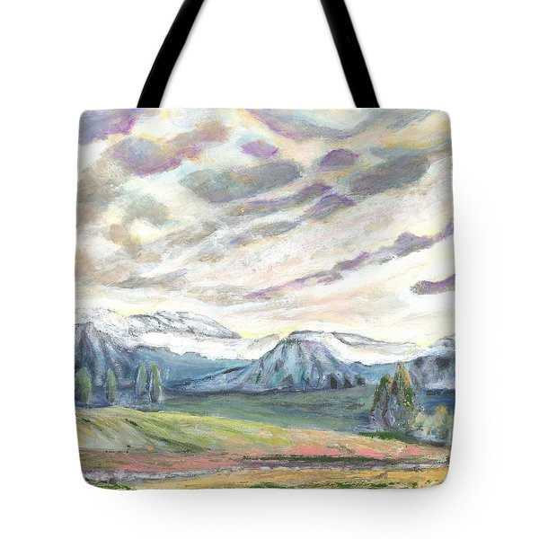Eager Expectation Tote Bag