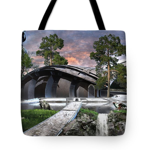 Eagle And The Wolf Tote Bag