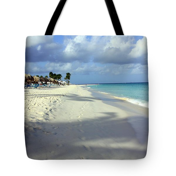 Eagle Beach Aruba Tote Bag