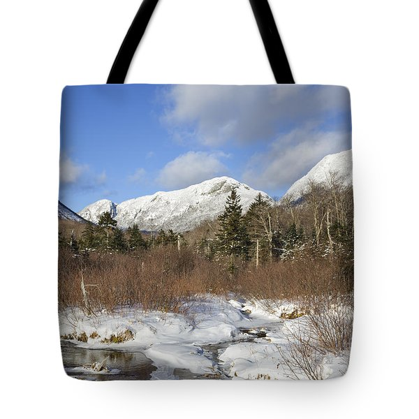 Eagle Cliff - Franconia Notch State Park New Hampshire Tote Bag