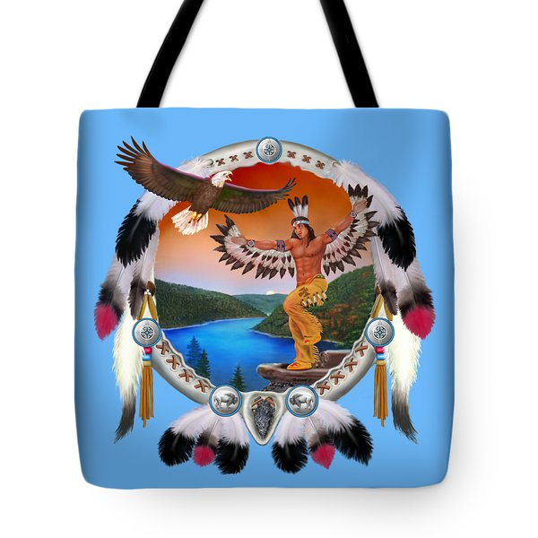Eagle Dancer Tote Bag by Glenn Holbrook