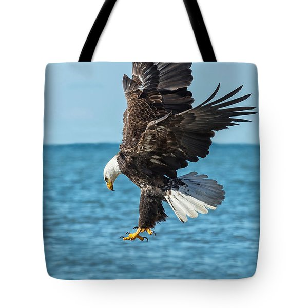 Eagle Dive Tote Bag