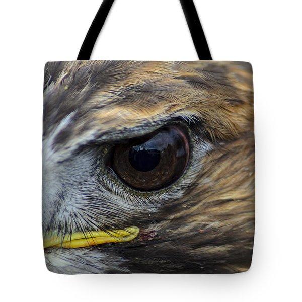 Eagle Eye Tote Bag by Rainer Kersten