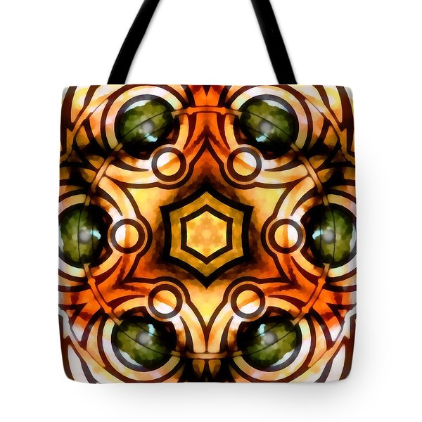 Tote Bag featuring the digital art Eagle Eye Ray by Derek Gedney