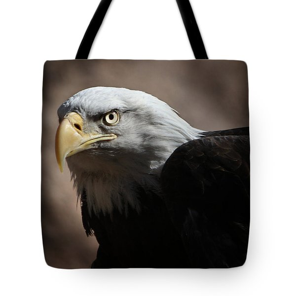 Tote Bag featuring the photograph Eagle Eyed by Marie Leslie