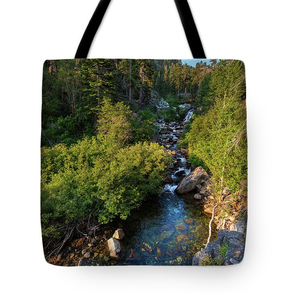Eagle Falls - 1 Tote Bag