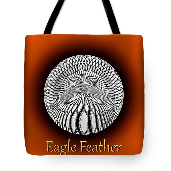 Eagle Feather Tote Bag