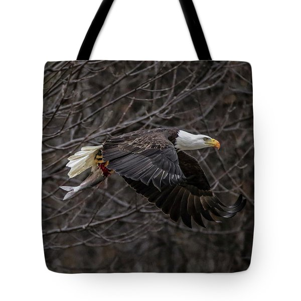 Eagle Fisher Tote Bag