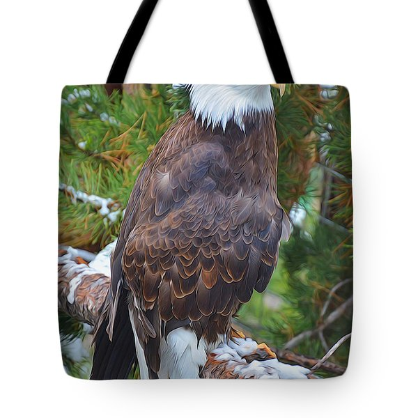 Eagle Glory Tote Bag