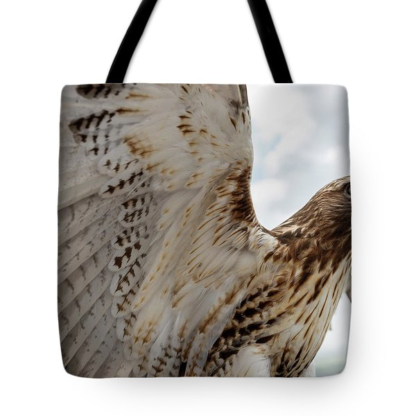 Eagle Going Hunting Tote Bag