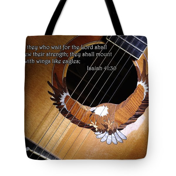 Eagle Guitar Tote Bag