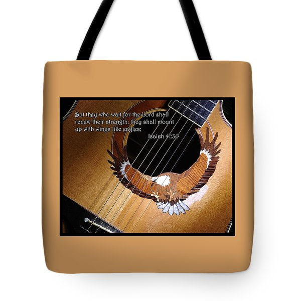 Eagle Guitar Tote Bag