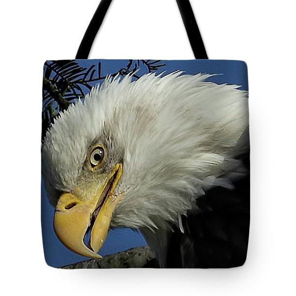 Eagle Head Tote Bag