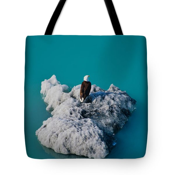 Eagle Ice Tote Bag