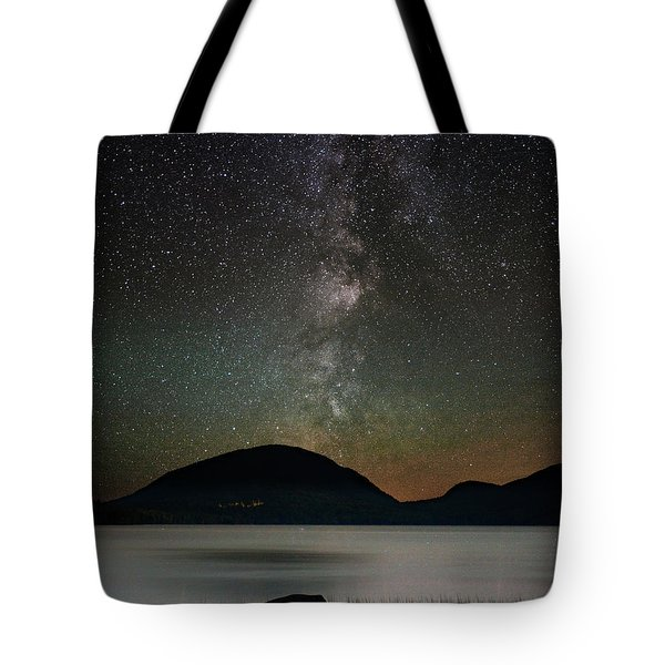 Eagle Lake And The Milky Way Tote Bag