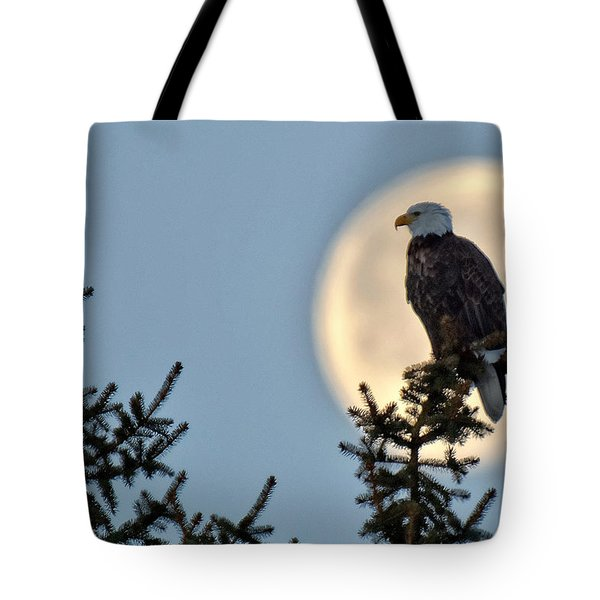 Eagle Moon Tote Bag
