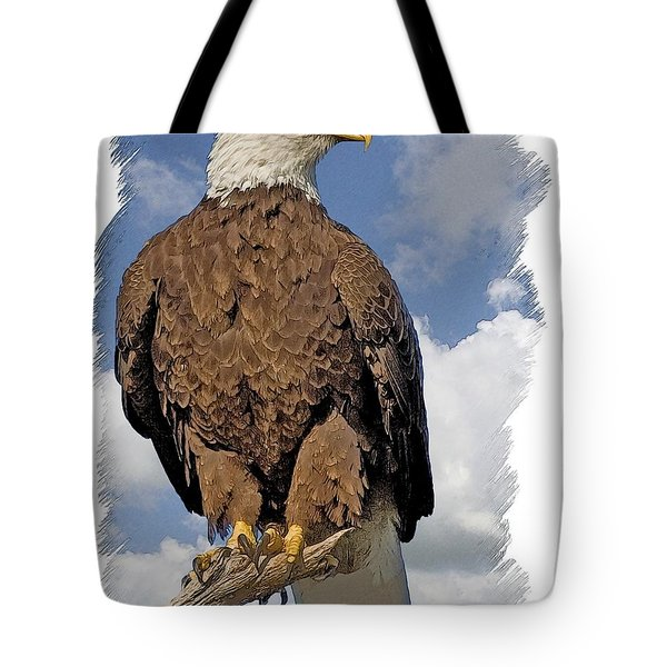 Eagle Perch Tote Bag