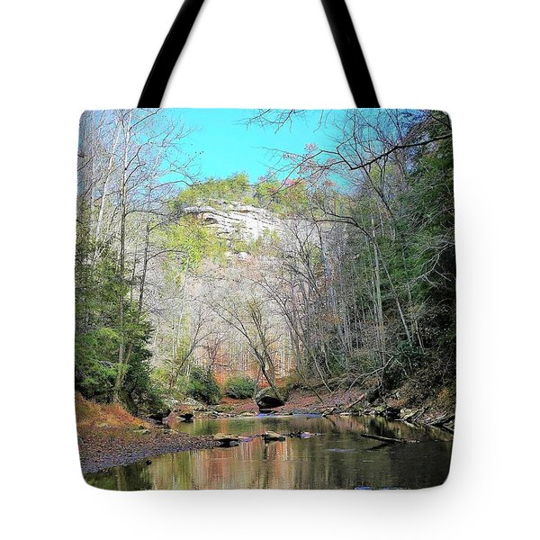 Eagle Point Buttress Tote Bag