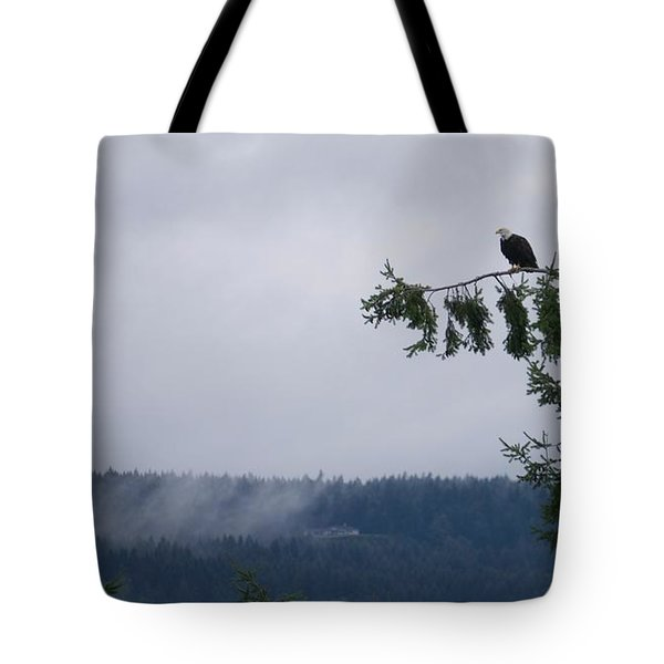 Eagle Powers Tote Bag