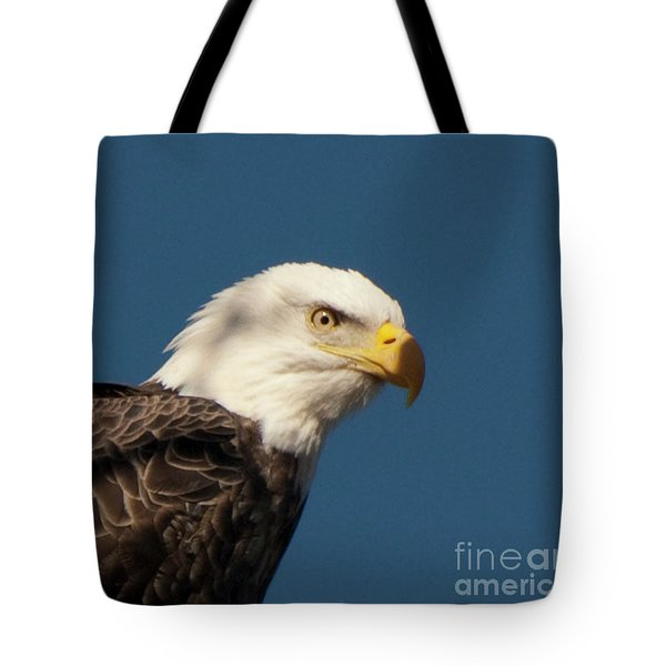 Tote Bag featuring the photograph Eagle by Rod Wiens