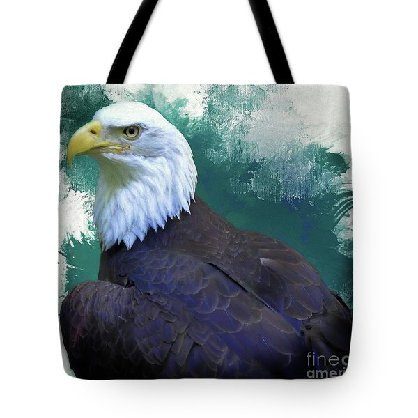 Eagle Tote Bag by Suzanne Handel