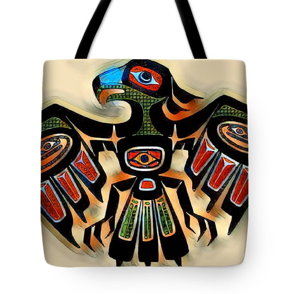 Eagle Symbol 2 Tote Bag