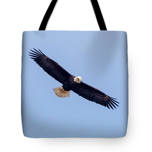 Tote Bag featuring the photograph Eagle Watch 2018 by Ricky L Jones
