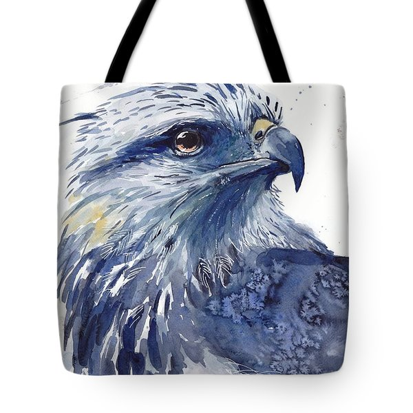 Eagle Watercolor Tote Bag