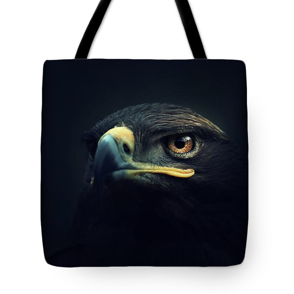 Eagle Tote Bag by Zoltan Toth