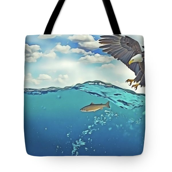 Eaglenfish Tote Bag