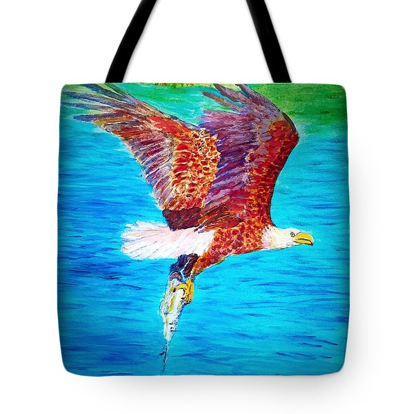 Eagle's Lunch Tote Bag