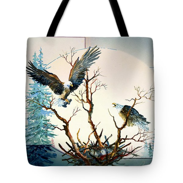 Eagles Nest Tote Bag